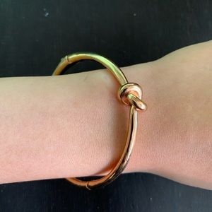 Kate Spade Rose Gold Knot Bangle